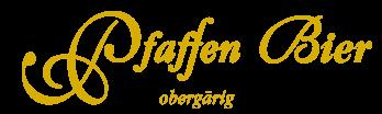 Pfaffen-Brauerei Logo